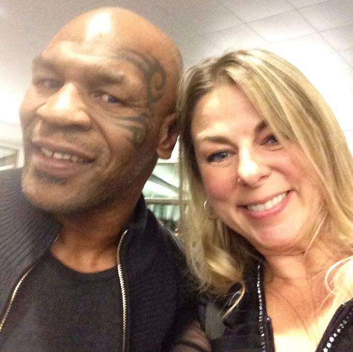 Vegas with Tyson. Classic.