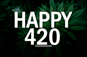 Happy 420 American Holiday